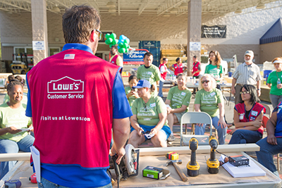 Women Build Lowes Clinic – Sandhills Habitat for Humanity